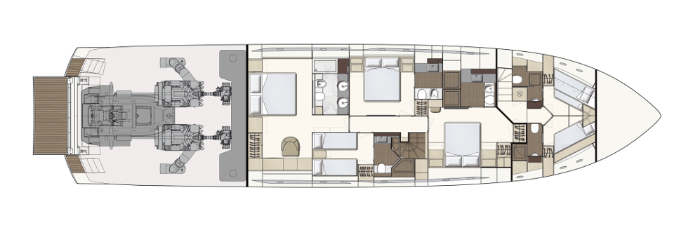 FerrettiYachts_850New_Lower Deck_10749