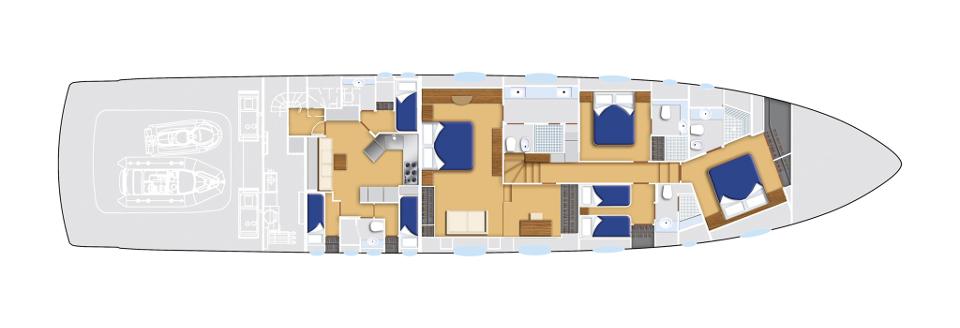Pershing_108_Lower deck_12065
