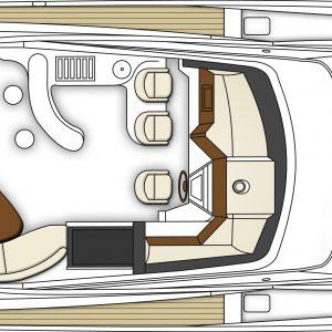 720 Motor Yacht Open Bridge